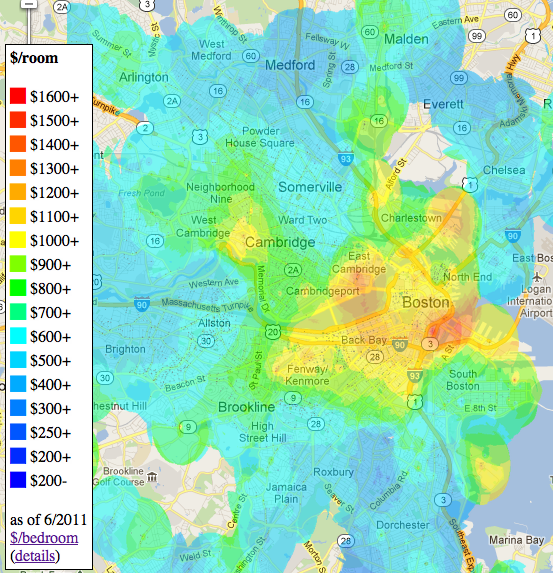 Apartment By Map: Apartment Price Map By Room