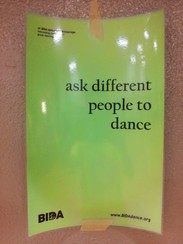 ask different people to dance