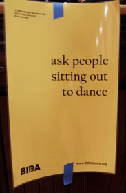 ask people sitting out to dance
