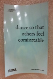 dance so that others feel comfortable