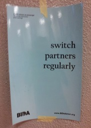 switch partners regularly