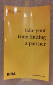 take your time finding a partner