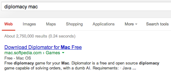 search results for [diplomacy mac]